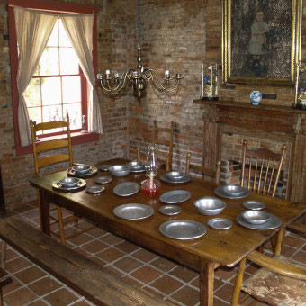 Brick Kitchen & Servant's Quarters